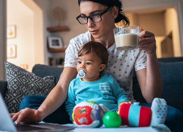 The impact of childcare issues during the pandemic